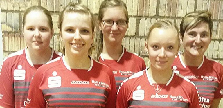 Einstand in die Tischtennis-Oberliga der Damen