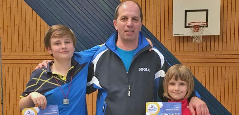 Nachwuchs bei Mini-Meisterschaften erfolgreich